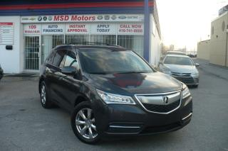 Used 2015 Acura MDX Elite Pkg NAVI,DVD,ROOF,LEATHER for sale in Toronto, ON