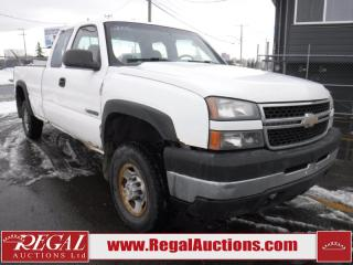 Used 2006 Chevrolet Silverado 2500 4D EXT CAB 4WD for sale in Calgary, AB