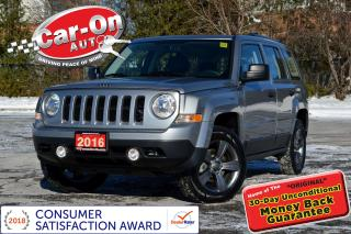 Used 2016 Jeep Patriot ONLY 4,000 KM 4X4 HTD SEATS CRUISE ALLOYS for sale in Ottawa, ON