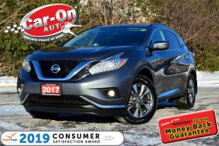 Used 2017 Nissan Murano SV AWD NAV PANO ROOF REAR CAM HTD SEATS LOADED for sale in Ottawa, ON