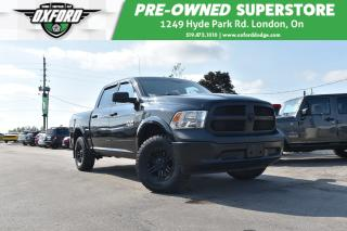 Used 2015 RAM 1500 ST - EcoDiesel,  aggressive off road tires, traile for sale in London, ON
