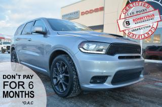 Used 2018 Dodge Durango R/T- Under 30,000km, Leather, Great Condition, 7 Passenger Seating, Navigation for sale in Bonnyville, AB