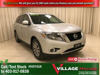 Used 2015 Nissan Pathfinder SL 4x4 for sale in Calgary, AB