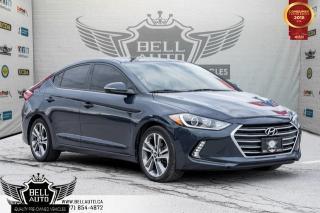 Used 2017 Hyundai Elantra GLS, BACK-UP CAMERA, POWERED SUNROOF, BLUETOOTH for sale in Toronto, ON