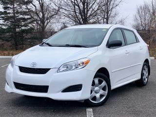 Used 2010 Toyota Matrix Power Pkg|Accident Free|Financing Available for sale in Mississauga, ON
