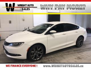 Used 2015 Chrysler 200 S|NAVIGATION|LEATHER|BLUETOOTH|76,440 KM for sale in Cambridge, ON