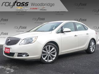 Used 2012 Buick Verano LEATHER, NAV, BOSE, SUNROOF for sale in Woodbridge, ON