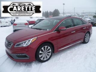 Used 2015 Hyundai Sonata Sport tech cuir-toit-gps for sale in East broughton, QC