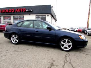 Used 2006 Subaru Legacy 2.5i Limited AWD AUTOMATIC SUNROOF LEATHER CERTIFIED for sale in Milton, ON