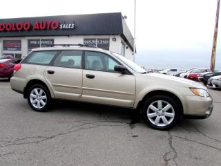 Used 2008 Subaru Outback 2.5i AWD AUTOMATIC WAGON ALLOYS CERTIFIED for sale in Milton, ON