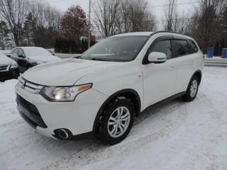 Used 2015 Mitsubishi Outlander 4 portes SE, Traction intégrale for sale in St-Pierre-Les-Becquets, QC