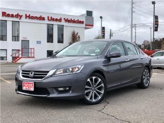 Used 2015 Honda Accord Sedan Sport for sale in Mississauga, ON