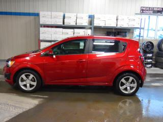 Used 2015 Chevrolet Sonic LT for sale in Amos, QC