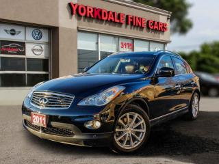 Used 2011 Infiniti EX35 Luxury Leather. Roof. Camera. Very Clean for sale in Toronto, ON