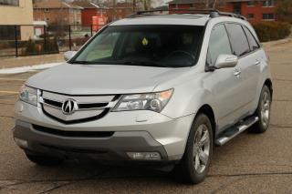 Used 2008 Acura MDX Elite Package NAVI | Leather | Sunroof  | CERTIFIED for sale in Waterloo, ON