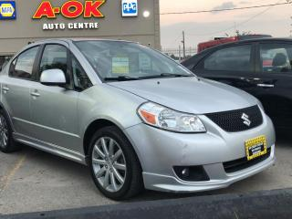 Used 2011 Suzuki SX4 Sedan 4dr Sdn Man Sport for sale in Oakville, ON