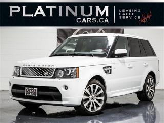 Used 2012 Land Rover Range Rover Sport AUTOBIOGRAPHY, SUPERCHARGED, NAVI, Pano for sale in Toronto, ON