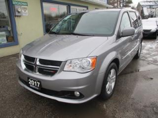 Used 2017 Dodge Grand Caravan 'LIKE NEW' CREW EDITION 7 PASSENGER 3.6L - V6.. CAPTAINS.. STOW-N-GO.. ECON-PACKAGE.. CD/AUX INPUT.. POWER WINDOWS.. for sale in Bradford, ON