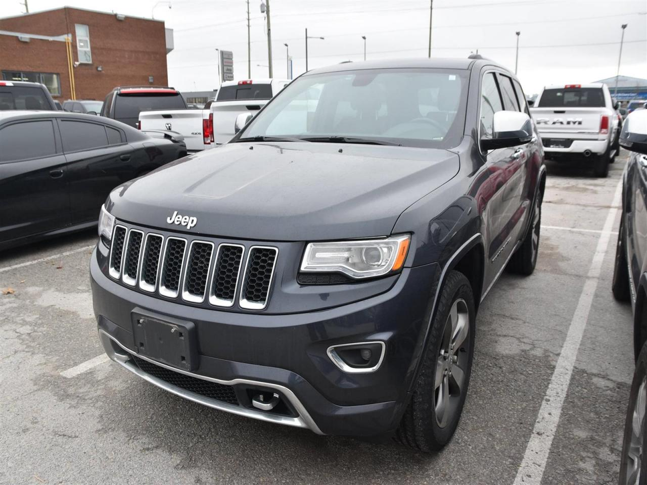 Used 2015 Jeep Grand Cherokee Overland Diesel Navi Trailer Package For Sale In Concord Ontario Carpages Ca