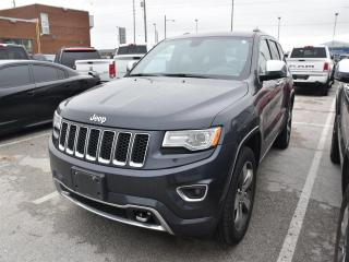 Used 2015 Jeep Grand Cherokee Overland DIESEL/NAVI/SUNROOF for sale in Concord, ON