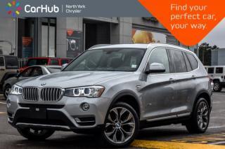 Used 2016 BMW X3 xDrive28i|H/K Audio|Pano_Sunroof|Nav|Pkng_Sensors|Keyless_Go|19