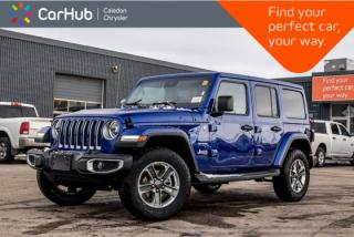 New 2019 Jeep Wrangler Unlimited New Car Sahara|4x4|Dual Top|Navi|Backup Cam|Bluetooth|R-Start|Leather|Blind Spot|18