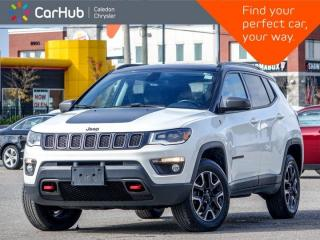 New 2019 Jeep Compass Trailhawk 4x4 Navigation Panoramic Sunroof Blind spot Remote Start Heated Front Seats 17