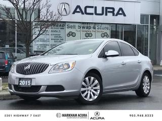 Used 2015 Buick Verano Sedan -3M, Tints, Bluetooth, Back Up Camera for sale in Markham, ON