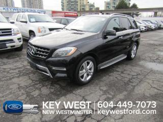 Used 2013 Mercedes-Benz ML-Class ML 350 BlueTEC 4Matic Sunroof Leather Cam for sale in New Westminster, BC