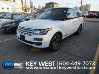 Used 2015 Land Rover Range Rover 4WD SC Autobiography Sunroof Leather Nav for sale in New Westminster, BC