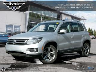 Used 2017 Volkswagen Tiguan Highline 2.0T 6sp at w/ Tip 4M for sale in Ottawa, ON
