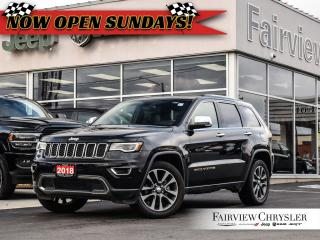 Used 2018 Jeep Grand Cherokee Limited l Luxury Group II l Pano Roof l NAV l for sale in Burlington, ON