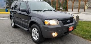 Used 2007 Ford Escape XLT 4WD Sport for sale in West Kelowna, BC