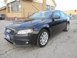 Used 2012 Audi A4 2.0T Quattro Premium Auto Leather Sunroof 179K for sale in Rexdale, ON