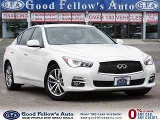 Used 2014 Infiniti Q50 6CYL 3.7 LITER, AWD, LEATHER SEATS, SUNROOF, NAVI for sale in Toronto, ON