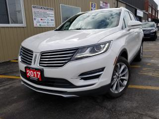 Used 2017 Lincoln MKC Select-AWD-NAV-PAN ROOF-PWR LIFTGATE-HEATED LEATHE for sale in Tilbury, ON