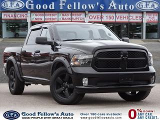 Used 2017 Dodge Ram 1500 ST MODEL, HEMI 5.7 L, 4WD, CREW CAB, 6 PASSENGER for sale in Toronto, ON