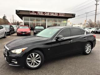 Used 2015 Infiniti Q50 AWD|NAVI|ACCIDENTFREE for sale in Mississauga, ON