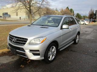 Used 2013 Mercedes-Benz ML-Class ML 350 BlueTEC~NAV.~ALL POWER OPTIONS~CERTIFIED for sale in Toronto, ON