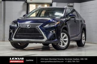 Used 2016 Lexus RX 350 PREMIUM AWD; CUIR TOIT CAMERA ANGLES MORTS MONITEUR ANGLES MORTS - VOLANT CHAUFFANT - SIÈGES CHAUFFANT 2EME RANGÉE for sale in Lachine, QC
