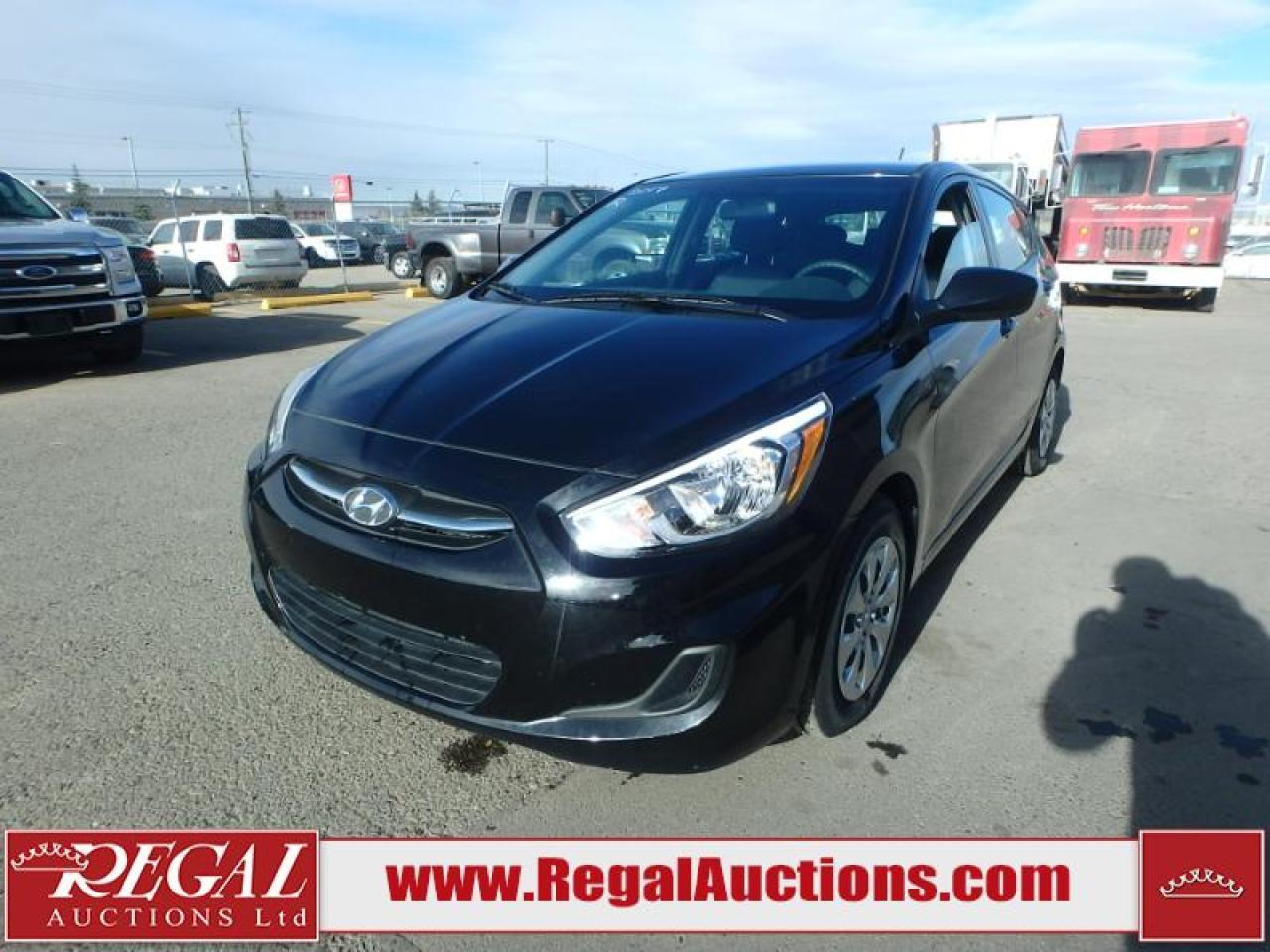Photo of Black 2017 Hyundai Accent