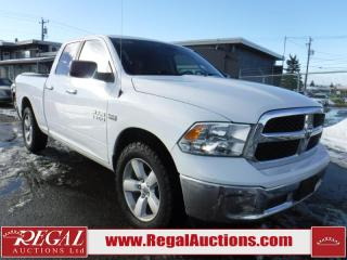 Used 2014 RAM 1500 SLT 4D Quad CAB 4WD for sale in Calgary, AB