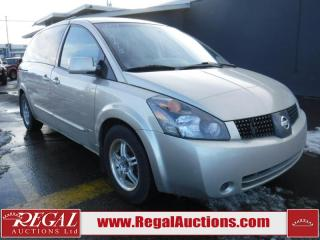 Used 2004 Nissan Quest 3.5S 4D Wagon for sale in Calgary, AB