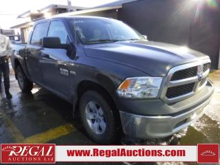 Used 2016 RAM 1500 SLT 4D Crewcab 4WD for sale in Calgary, AB