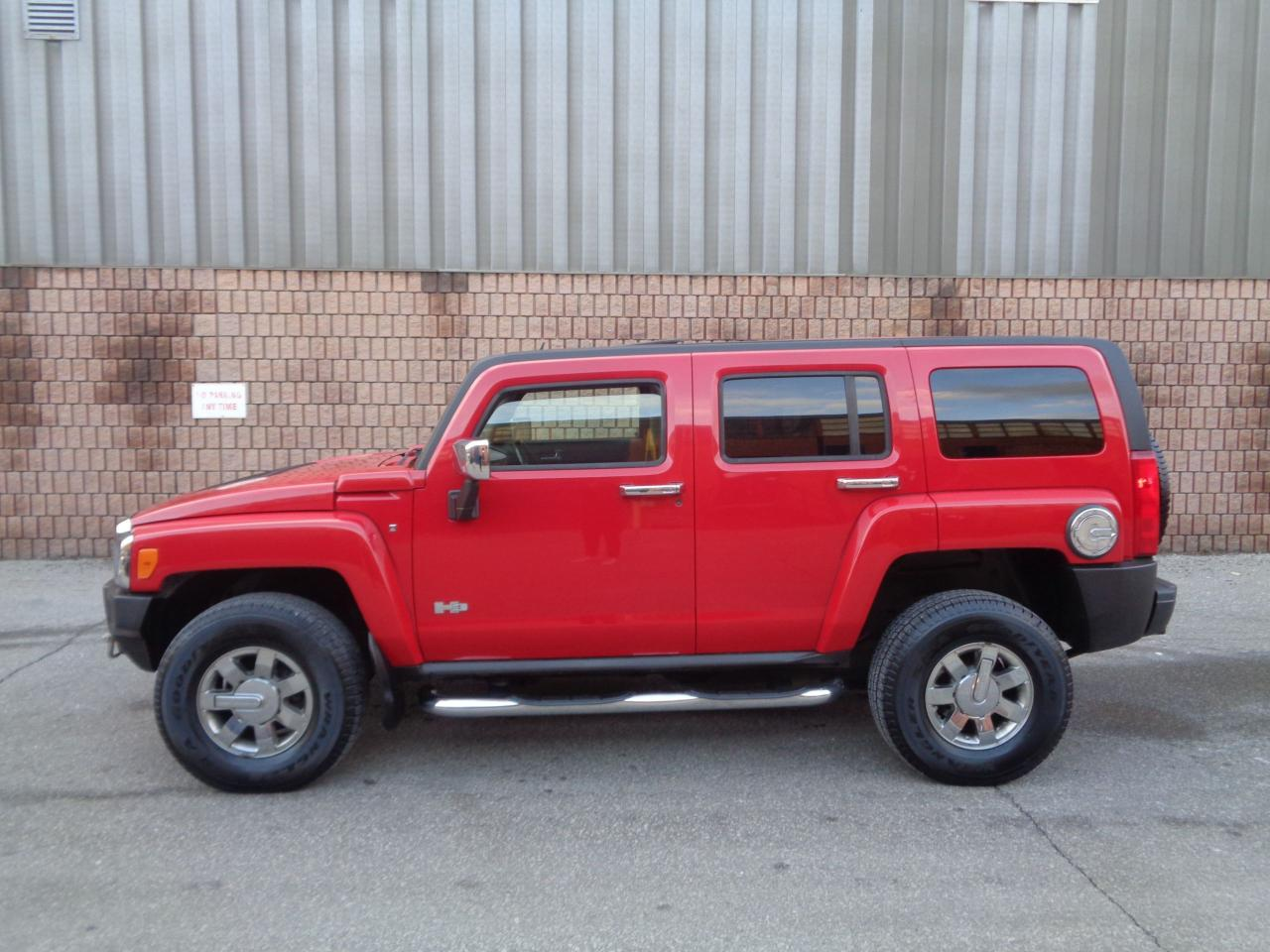 2007 Hummer H3 4X4 - LEATHER - SUNROOF - CHROME PKG
