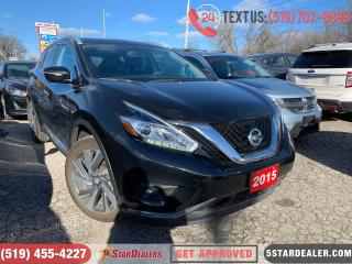 Used 2015 Nissan Murano Platinum | NAV | ROOF | LEATHER | CAM | AWD for sale in London, ON