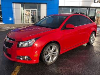 Used 2014 Chevrolet Cruze 2LT | LEATHER | ROOF | CAM | RS PACKAGE for sale in London, ON