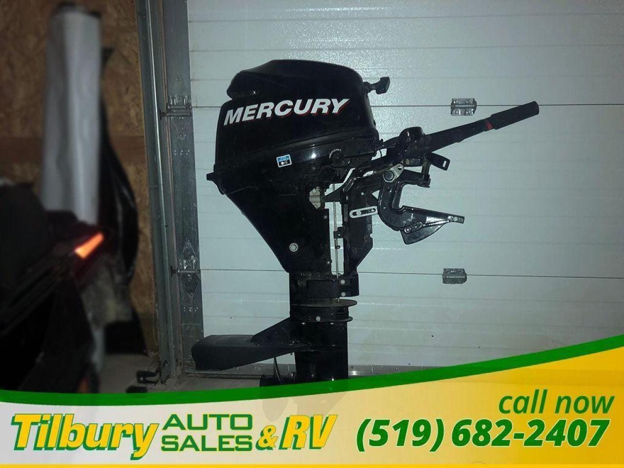2011 Mercury 8HP Outboard Motor *Clean, quiet & fuel efficient*