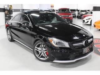 Used 2014 Mercedes-Benz CLA-Class 45 AMG 4MATIC   RED AND BLACK INTERIOR for sale in Vaughan, ON