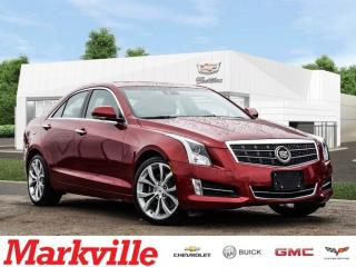 Used 2014 Cadillac ATS AWD-NEW BRAKES-SR-NAV-CERTIFIED PRE-OWNED-1 OWNER for sale in Markham, ON